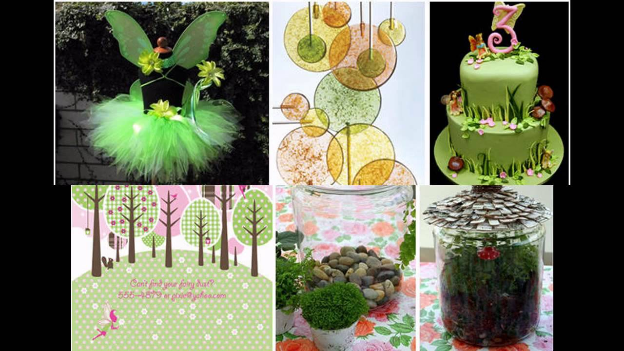 Fairy Birthday Party Decorations Cute Fairy Birthday Party Decorations Ideas Youtube