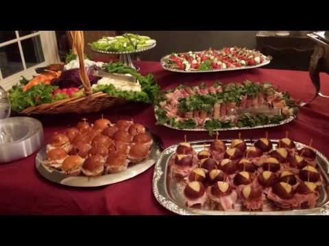 How To Set Up An Appetizer Table