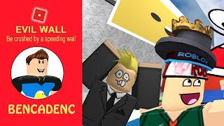 Should we be crushed by a speeding wall ? Roblox Adventures