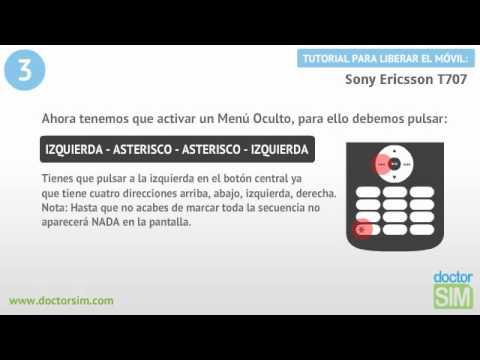 Liberar móvil Sony Ericsson T707 | Desbloquear celular Sony Ericsson T707