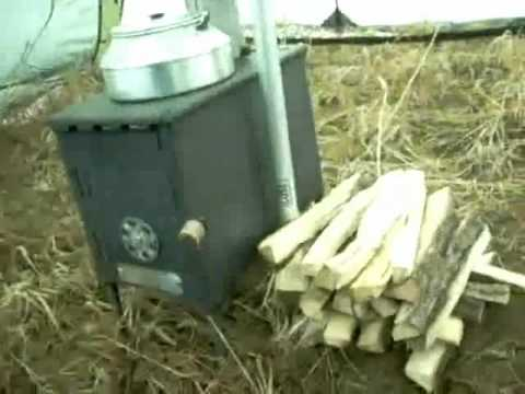 Ammo Box Wood Burning Stove And Final Test Youtube