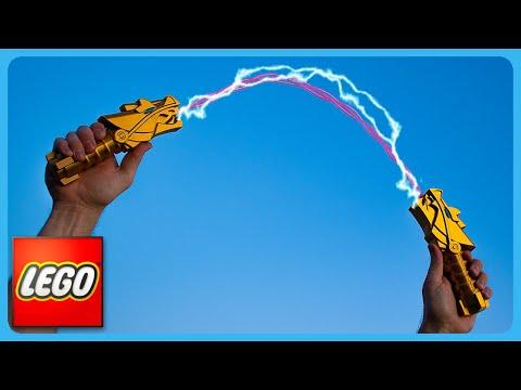 Making The Lego Ninjago Nunchucks Of Lightning