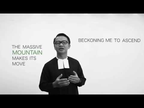 I Choose The Mountain - Howard Simon (by Br. Rey Mejias FSC and Br. Iñigo Riola FSC)
