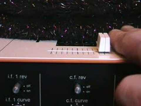 What does the Curve do on a DJ mixer/cross fade , x fade?