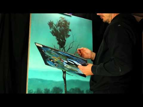Trendsetter - An original acrylic painting time lapse video by Tim Gagnon