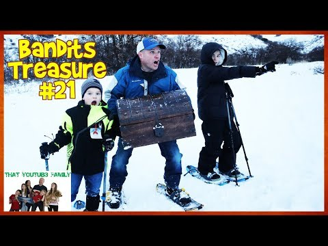 Bringing The Treasure Together - Bandits Treasure #21 / That YouTub3 Family I Family Channel