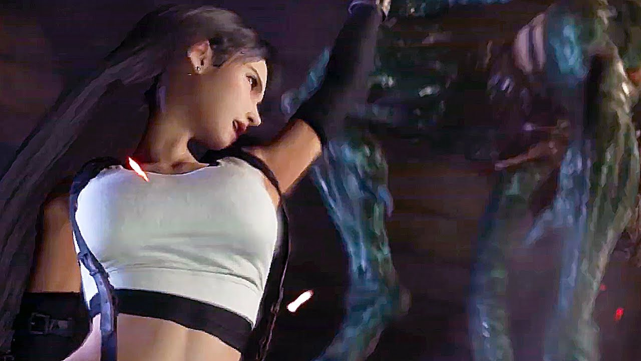 Final Fantasy Vii Remake S Tifa Lockhart Comes To Life In