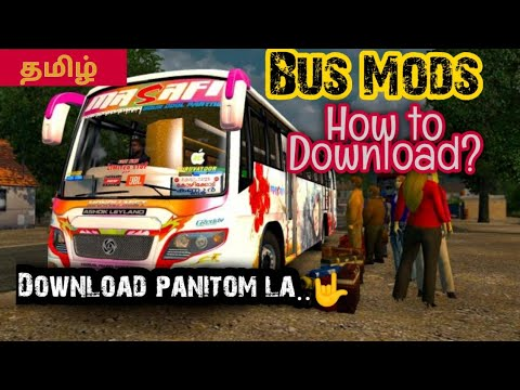 How to download Euro Truck Simulator 2 Bus mod | Explained in tamil | UnitedByTamil | UYT