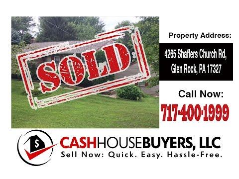 TESTIMONIAL We Buy Houses Glen Rock PA   CALL 717 400 1999   Sell Your House Fast Glen Rock PA