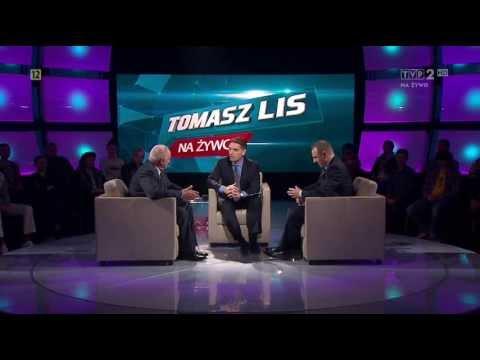 Stefan Niesiołowski i Jacek Kurski ws. wyroku Beaty Sawickiej (Tomasz Lis Na Żywo, TVP2 29.04.2013)