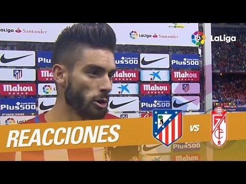 """Carrasco: """"Estoy muy feliz por haber marcado tres goles por primera vez en mi carrera"""""""
