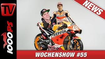 MotoGP News, SWISS MOTO 2020 und vieles Mehr! 1000PS Wochenshow #55