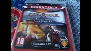 Розпакування God of War HD Collection Volume 2