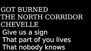 Got Burned by Chevelle, Lyrics