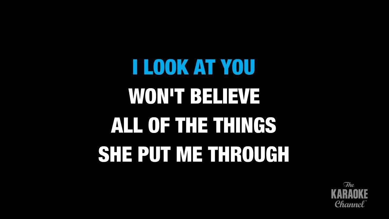 how u remind me_U Remind Me (Radio Version) in the Style of Usher karaoke video with lyrics (no lead ...
