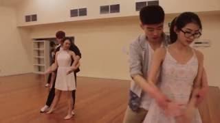 Bring Me The Night - Sam Tsui & Kina Grannis   Lyrical Choreography by Naomi Wo