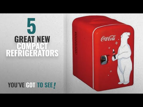 Top 10 Generic Compact Refrigerators [2018]: Easy Care And Clean Handy RED Coca-Cola Compact 6-Can