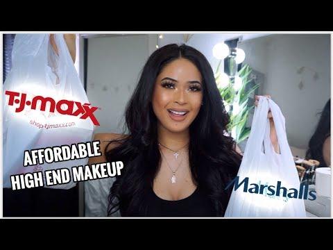 TJ MAXX & MARSHALLS MAKEUP HAUL + COME SHOPPING WITH ME ! |Taisha thumbnail