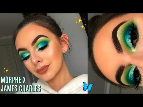 MORPHE X JAMES CHARLES PALETTE TUTORIAL! | First Impressions + Review!