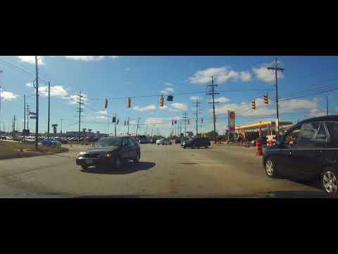 Driving around Brook Park, Ohio