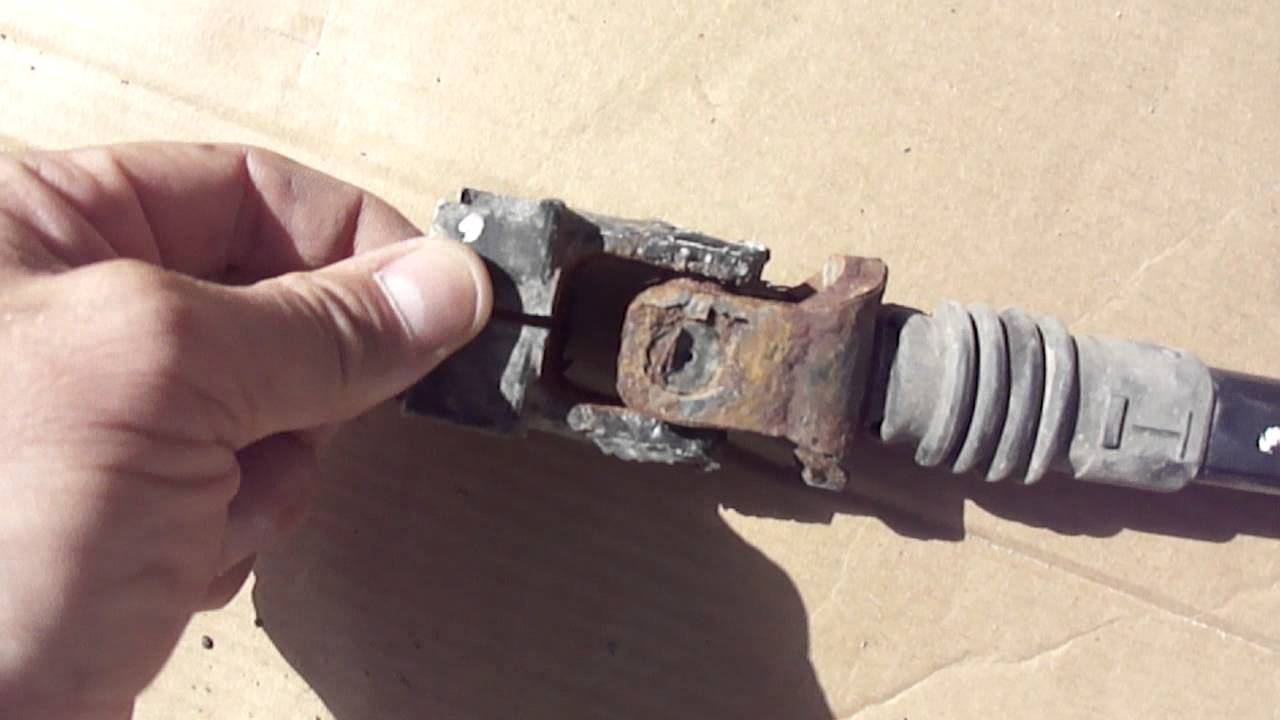 Found the clicking noise in the steering shaft of my 02 ...