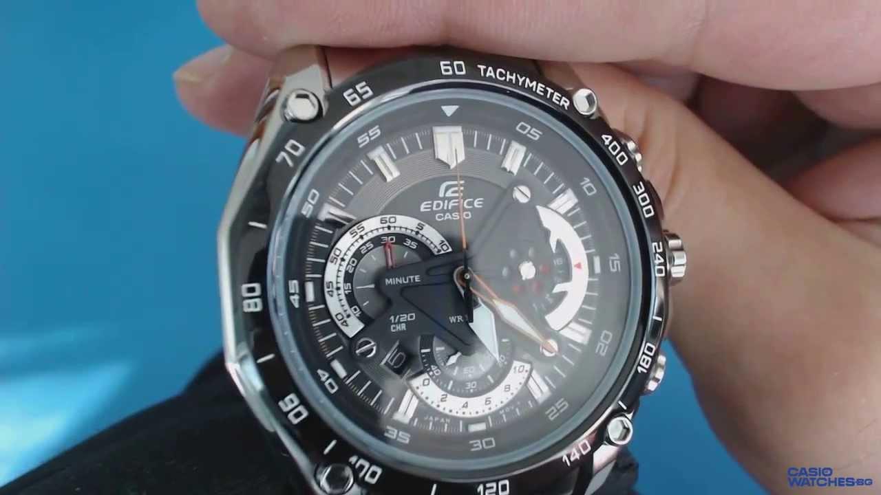4df33bb6d2ce Casio Edifice Chronograph EF-550D-1AV - YouTube