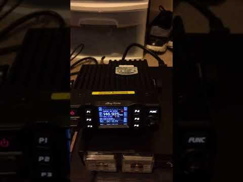 Anytone AT778uv ham radio programming