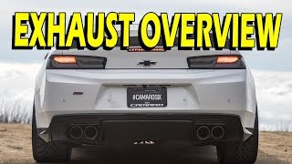 Camaro SS Exhaust – Headers, high flow cats, straight pipes, and mufflers