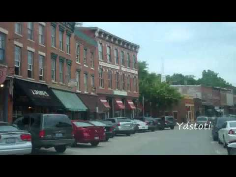 Driving Through Downtown Galena, Illinois