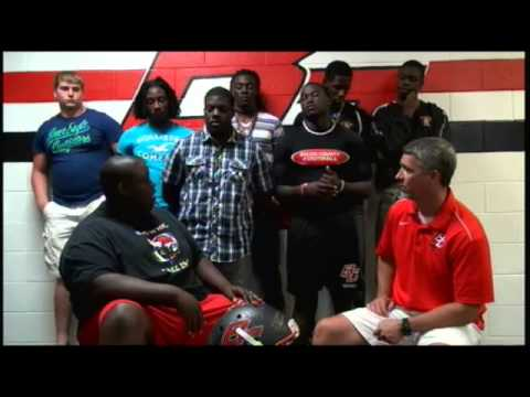 The Red Raiders Coach's Show (Preseason Show) Bacon County High School