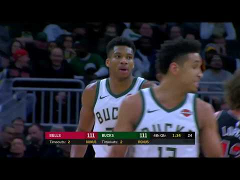 Bucks - Bucks hold off Bulls for 116-113 win on Wednesday night