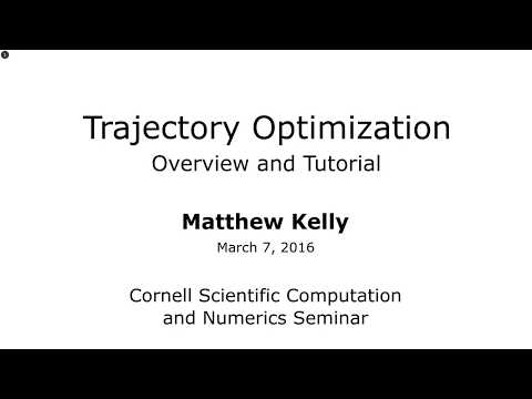 Introduction to Trajectory Optimization