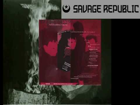 """Savage Republic - """"Hanging Garden"""" - from Fear Drop #14 Cure """"Pornography"""" tribute CD"""