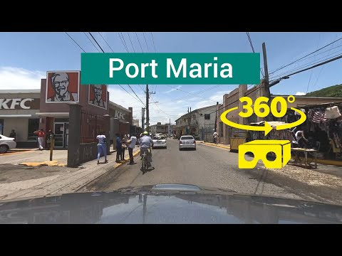 Port Maria, St Mary, Jamaica 360°