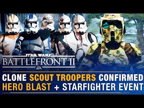 CLONE SCOUT Troopers Confirmed! Clone Customization Update Details + Hero Blast | Battlefront Update