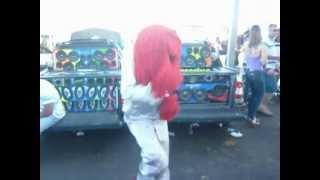 fofão dançando na arena 2012 planaltin...