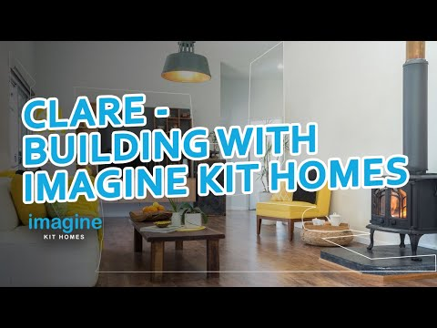 Clare – building with IMAGINE KIT HOMES