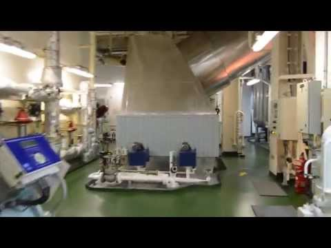 a tour in a suezmax tanker's engine room