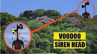 DO NOT MAKE A SIREN HEAD VOODOO DOLL & USE IT IN THE SIREN HEAD FOREST!! (GIANT SIREN HEAD SIGHTING)