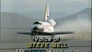 ABC News Coverage of The STS-41-D Landing