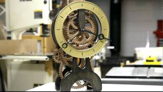 Wood Gear Clock Part 5
