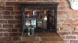 Pallet Liquor Cabinet 2