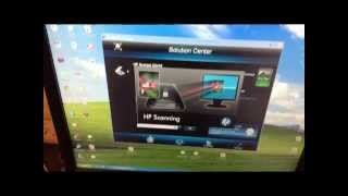 how to fix scan problem color hp scanjet g2410