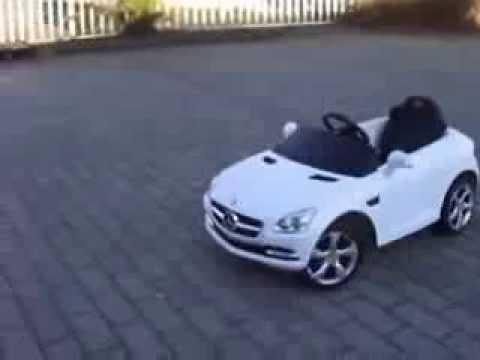 Mercedes SLK 6V + Afstandsbediening (diverse kleuren)