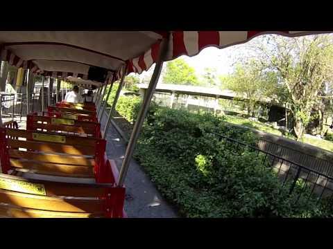 St. Louis Zoo Full Train Ride - St. Louis, Missouri 2015