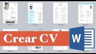 Como hacer y elaborar un curriculum vitae 2016 Facil, Rapido y Sencillo