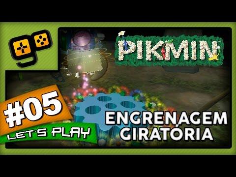 Let's Play: Pikmin - Parte 5 - Engrenagem Giratória