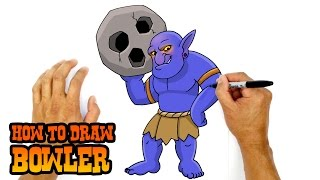 How to Draw Bowler | Clash of Clans