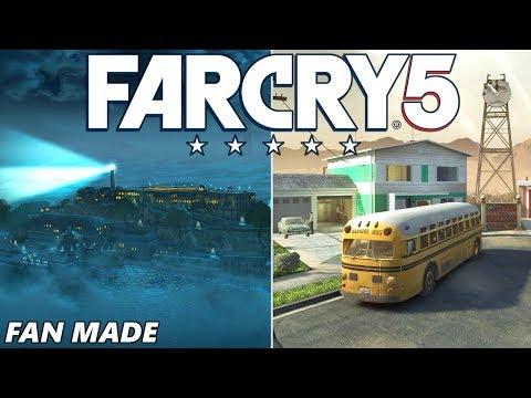 FAR CRY 5: NUKETOWN, ALCATRAZ & ZOMBIES! (Custom Maps Gameplay Arcade)