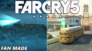 FAR CRY 5: NUKETOWN, ALCATRAZ & ZOMBIES! (Custom Maps Gameplay Arcade)